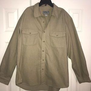 EUC Eddie Bauer Long Sleeve Shirt Size L.